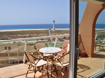 Amazing, modern, great apartment in Morro Jable with stunning ocean views & WiFi
