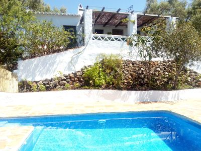 Photo for Beautiful and quiet Cottage typical Andalusian at 12 km from Nerja and beaches.