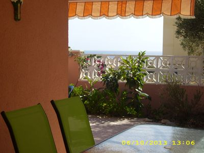Photo for Chalet in Aguilas, sea views with A / A Wifi large terrace, ideal for pets