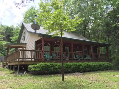 Photo for Timberlake Lodge on Lake Hawkins, your lakeside getaway!