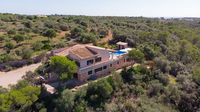 Photo for Finca Melanie near the beach and town, with pool and internet access