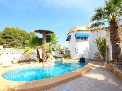 Photo for Beautiful villa in Calpe with private pool. GOOD4
