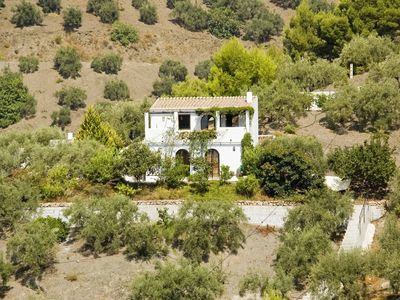 Photo for Cottage in the Axarquia on a hill of olive trees overlooking the sea
