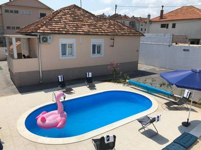 Photo for Holiday house with a swimming pool Zadar (K-14133)