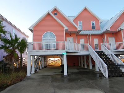 Photo for Beautiful and Spacious Beach Home with Great Gulf Views. New Updated Kitchen!