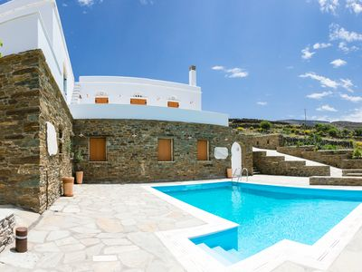 Photo for 6BR Villa Vacation Rental in TINOS