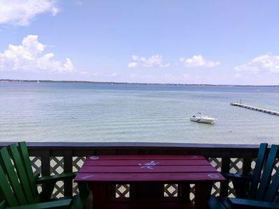 Photo for Right on the Pensacola Bay, Unobstructed Views of the Water. Comfy and Clean