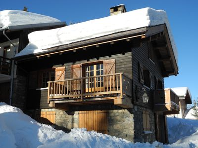 Photo for COURCHEVEL VILLAGE - CHARMING CHALET NEAR THE SLOPES