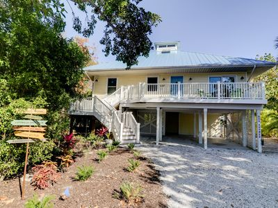 Photo for A Lucky Find: Amazing Key West Style Pool Home w/ Tiki Bar Steps to Beach!