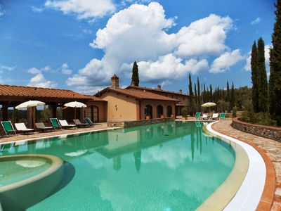Photo for 11 bedroom Villa, sleeps 22 with Pool, Air Con and FREE WiFi