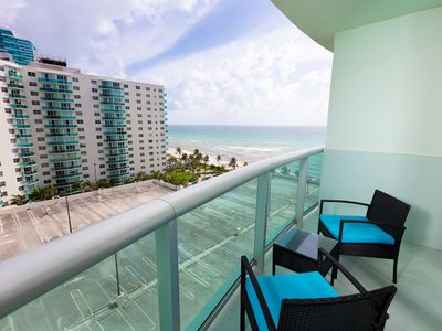Photo for Remodeled ocean front condo with ocean and intercostal views!