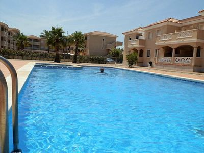 Photo for AP DUNES ROS,Ideal house for your holidays near the sea, free wifi, air conditioning, community pool, pets allowed, dog's beach.