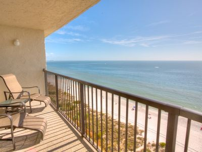 Photo for Beachfront Luxury on the Top Floor of Ocean Sands. What a View!