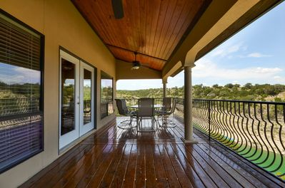 Deck - Located on one of the deepest coves in Lake Travis -- great for boating and swimming.
