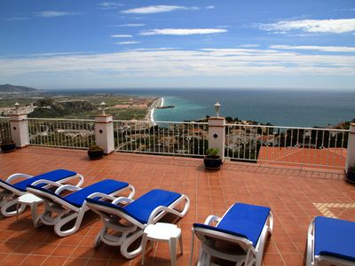 Photo for Luxury Villa With Spectacular Views! Private heated pool - hot tub!