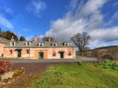 Photo for BRAEBURN COTTAGE -  relaxed living on a private country estate close to Jedburgh