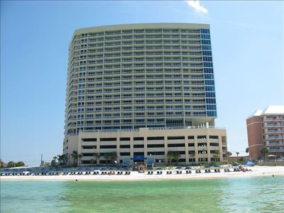 Photo for Palazzo-Luxury 3BR/3BA Beach/Gulf Front, Free Wi-Fi and Free Beach Service daily