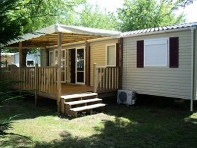 Photo for Camping Landes Azur **** - Mobile home 4 Rooms 6 People