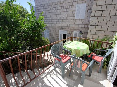 Photo for Studio flat with terrace Cavtat (Dubrovnik)