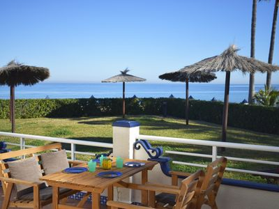 Photo for Wonderful and cheerful apartment  with communal pool in Denia, on the Costa Blanca, Spain for 5 persons