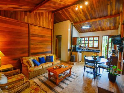 Photo for Cozy chalet in Monte Verde