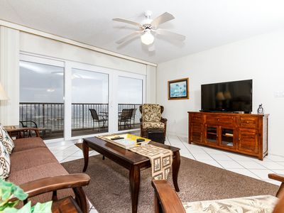 Photo for Islander 6003:UPDATED BEACH FRONT condo - free WIFI, Beach service, golf