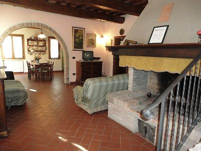 "Photo for ""La Quercia"" apartment in Agriturismo Bramasole"