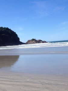 Photo for Season to kitchenettes to 100 meters from the large beach in Ubatuba. furnished kit