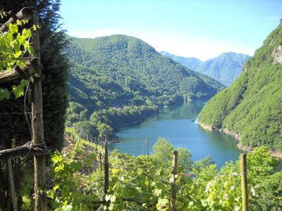 Photo for 1BR Apartment Vacation Rental in Vogorno, Tessin