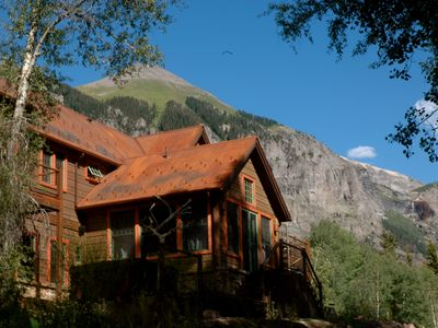 Photo for STUNNING VIEWS from this TELLURIDE RIVERFRONT HOME