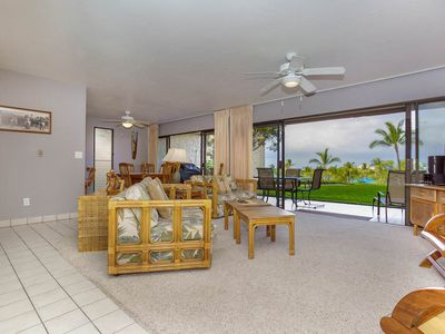 Photo for Family Friendly Condo w/ Lanai, Golf Nearby, Shared Jacuzzi/Pool Area