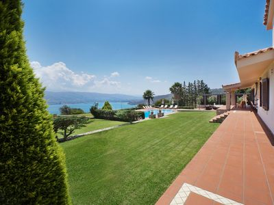 Photo for Hanging Over the Sea - Enormous garden with Full Privacy & Spectacular Views!