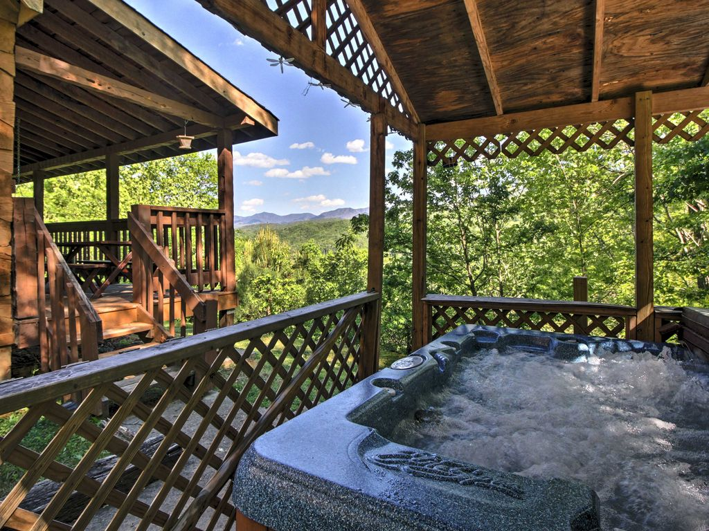 Baita per 6 persone nel gatlinburg 4563396 for Cabina di brezza autunnale gatlinburg