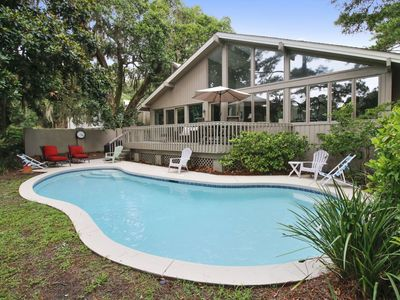 Photo for Experience Hilton Head Island as the locals do when you stay in this 4 bedroom, 4-bath home in Sea P