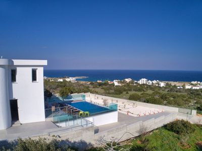 Photo for Villa Kono Provoles - Luxury 4 Bedroom Protaras Villa with Stunning Panoramic Sea Views