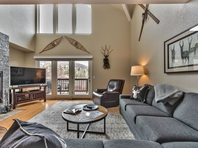 Photo for Deer Valley Snow Park Lodge. Located on FREE Park City shuttle route with a private Hot tub