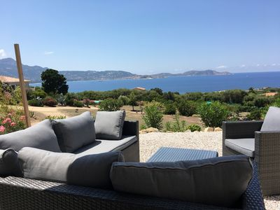 Photo for House Lumio overlooking the Bay of Calvi