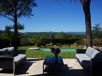 Photo for Architect villa near St Tropez !!15% discount for september!!