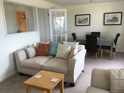 Photo for Just-for-two. Apartment in West Cornwall with rural and coastal views