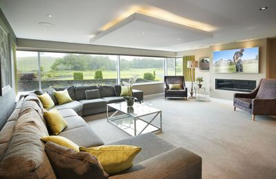 Photo for A luxurious 10 guest holiday home adjacent to Carus Green Golf Club, close to Kendal, Windermere and
