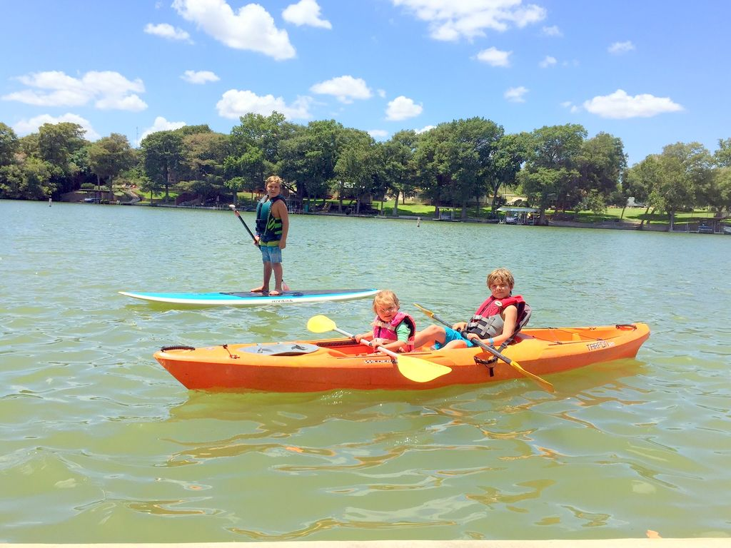 Camp Willow Cottage 2 Lake Dunlap Guadalupe River New