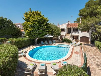 Photo for 7 bedroom Villa, sleeps 13 with Pool, FREE WiFi and Walk to Beach & Shops