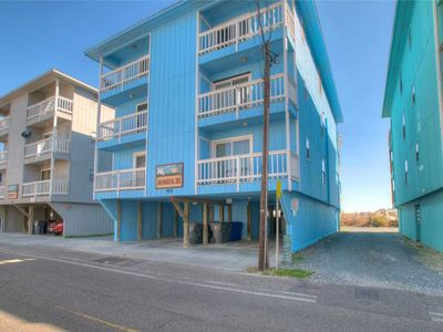 Photo for Winds III B1: Cozy 2 bedroom oceanfront condo with a community pool and walkway to the beach