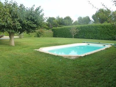 Photo for Provence, house with swimming pool near natural park of Alpilles