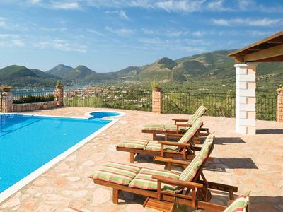 Photo for 2 bedroom Villa, sleeps 4 in Nydri with Pool, Air Con and WiFi