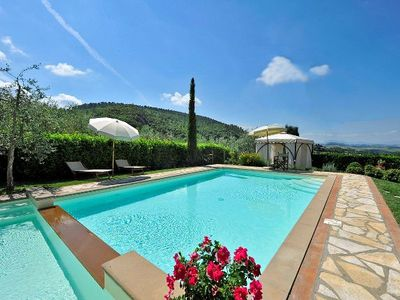 Photo for Four Bedroom Detached Villa Montaione   Villa Sasha is a characteristic private villa on the edge of