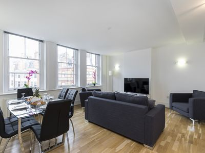 Photo for MARYLEBONE AREA SPACIOUS 3BR DUPLEX BY REGENTS PARK AND OXFORD STREET