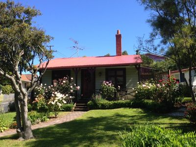 Photo for The Albion Cottage in beautiful colourful garden