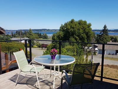 Photo for Brand New Ocean View Carriage House, Royston By The Sea, Vancouver Island, BC
