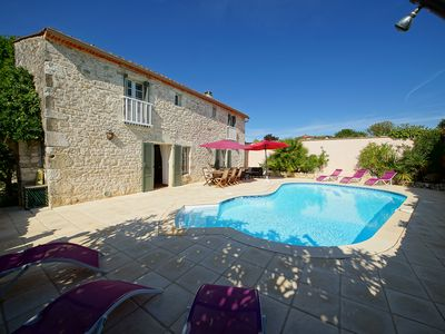 Photo for Superb character house with heated pool and heated pool ****